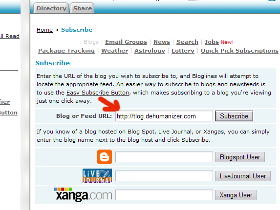 Bloglines 5