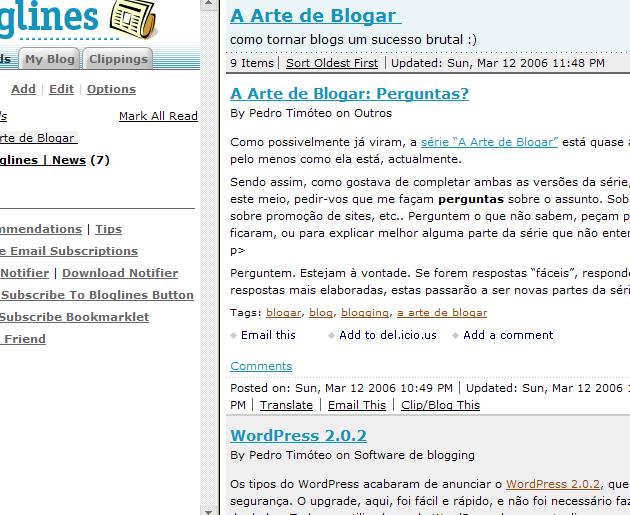 Bloglines 8